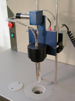 Aparat automat pentru determinarea punctului de congelare