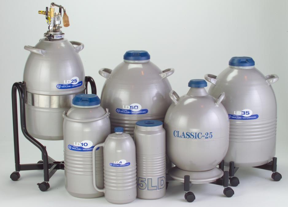 Vas Dewar 35 litri