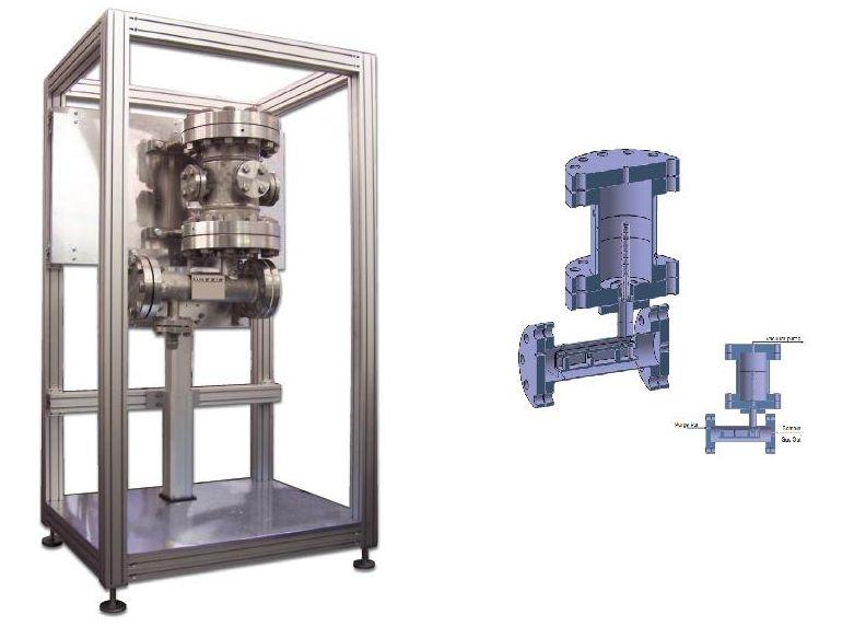 Aparat analiza termogravimetrica la presiuni mari (150 bari)