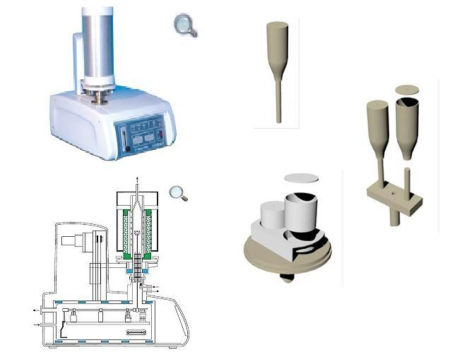Instrument pentru analiza termica simultana (STA)