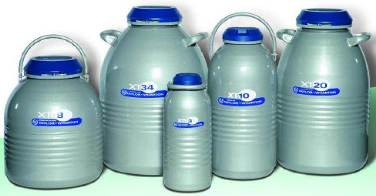 Containere criogenice pentru stocare probe in azot lichid