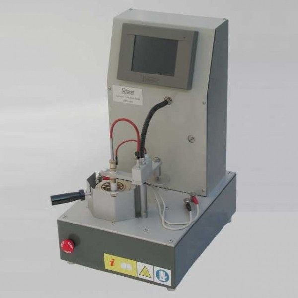 AUTOMATIC FLASH AND FIRE POINT TESTER  WITH BAROMETRIC CORRECTION OF THE RESULT